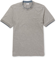 Brioni Silk-Tipped Stretch-Cotton T-Shirt