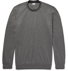 Brioni Silk-Tipped Stretch-Cotton Sweatshirt