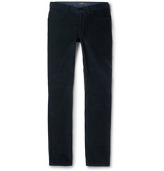Brioni Meribel Slim-Fit Cotton-Corduroy Trousers