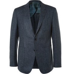 Etro - Blue Slim-Fit Wool-Blend Tweed Blazer