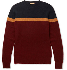 Etro Colour-Block Cashmere Sweater