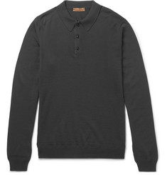 Etro Merino Wool Polo Shirt