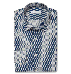 Etro Polka-Dot Cotton Shirt