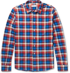 Etro Checked Cotton-Flannel Shirt