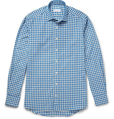 Etro Gingham Cotton-Flannel Shirt