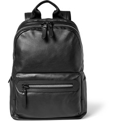 Lanvin Leather and Shell Backpack