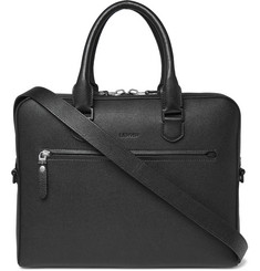 Lanvin Textured-Leather Briefcase