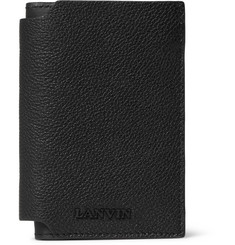 Lanvin Grained-Leather Bifold Cardholder