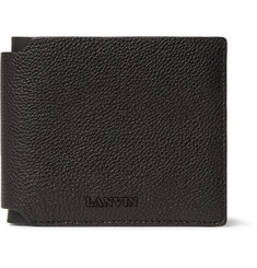 Lanvin Grained-Leather Billfold Wallet