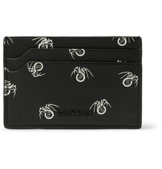 Lanvin Printed Leather Cardholder