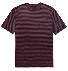 Lanvin Dégradé Striped Cotton-Jersey T-shirt