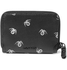 Lanvin Printed Leather Wallet