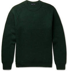Lanvin - Chain-Stitch Merino Wool Sweater