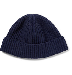 Lanvin Ribbed Wool Beanie