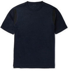 Lanvin Contrast-Trim Cotton T-Shirt