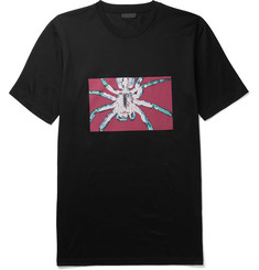 Lanvin Spider-Print Cotton-Jersey T-Shirt