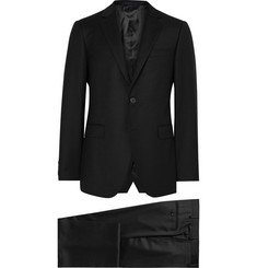 Lanvin Black Slim-Fit Wool and Cashmere-Blend Suit