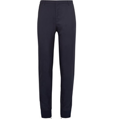 Lanvin Tapered Zip-Detailed Woven Trousers