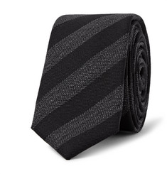 Lanvin 4.5cm Striped Wool Tie