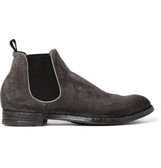 Officine Creative Anatomia Suede Chelsea Boots