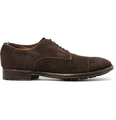 Officine Creative Princeton Suede Derby Shoes