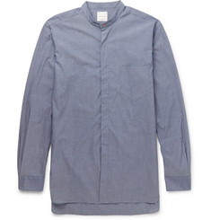 Paul Smith Grandad-Collar Cotton Shirt