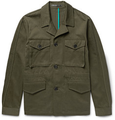 Paul Smith Cotton and Linen-Blend Twill Field Jacket