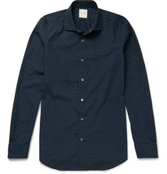 Paul Smith Soho Slim-Fit Printed Cotton Shirt