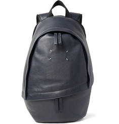 Maison Margiela Full-Grain Leather Backpack