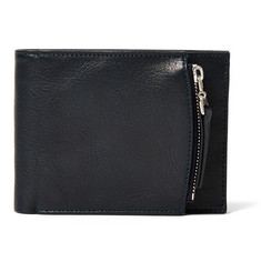 Maison Margiela Grained-Leather Billfold Wallet