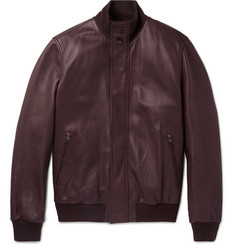 Ermenegildo Zegna - Leather Bomber Jacket