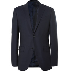 Ermenegildo Zegna Blue Slim-Fit Wool Travel Blazer