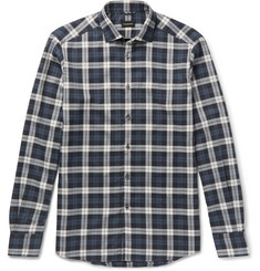 Ermenegildo Zegna Slim-Fit Checked Cotton Shirt