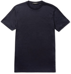 Ermenegildo Zegna Slim-Fit Slub Wool T-Shirt