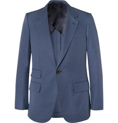 Kingsman Blue Eggsy Slim-Fit Cotton Suit Jacket