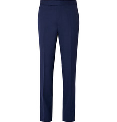 Kingsman Blue Harry Slim-Fit Wool Suit Trousers