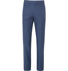 Kingsman Blue Eggsy Slim-Fit Cotton Suit Trousers