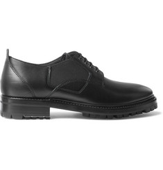 Lanvin Elasticated Leather Derby Shoes