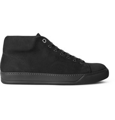 Lanvin Grained-Nubuck Sneakers