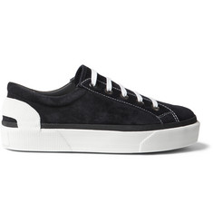 Lanvin Two-Tone Suede Sneakers