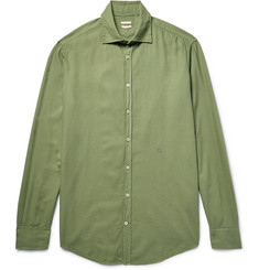Massimo Alba Genova Brushed Modal and Cotton-Blend Shirt