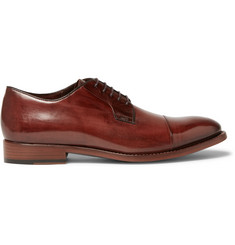 Paul Smith Ernest Polished-Leather Derby Shoes