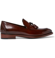 Paul Smith Haring  Polished-Leather Tasseled Loafers