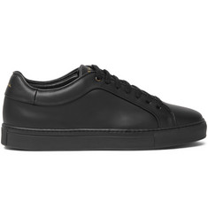 Paul Smith Shoes & Accessories Basso Matte-Leather Sneakers