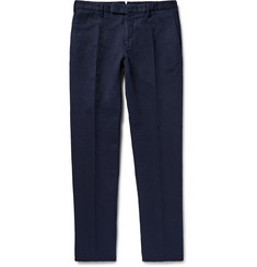 Incotex - Chinolino Slim-Fit Linen and Cotton-Blend Twill Trousers