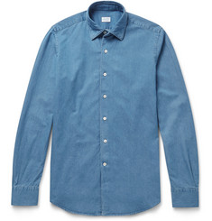 Incotex - Kurt Slim-Fit Cotton-Chambray Shirt