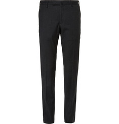 Incotex Slim-Fit Herringbone Stretch-Wool Trousers