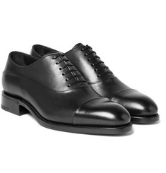 Ermenegildo Zegna - Belgravia Leather Oxford Shoes
