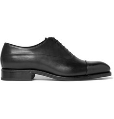 Ermenegildo Zegna Belgravia Leather Oxford Shoes