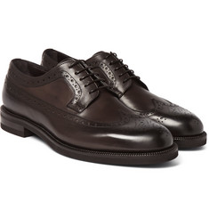Ermenegildo Zegna - Flex Leather Wingtip Brogues
